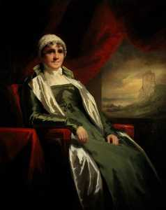 Henry Raeburn Dobson - Jean Adam, Mrs Kennedy of Dunure (the sitter-s name is also given as Jane Adam)