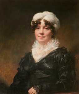 Henry Raeburn Dobson - Mrs John Hamilton of Northpark House, Glasgow