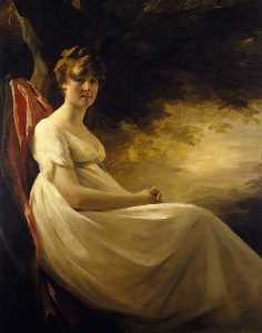 Henry Raeburn Dobson - Isabella, Mrs William Simpson, Later Mrs Burroughs