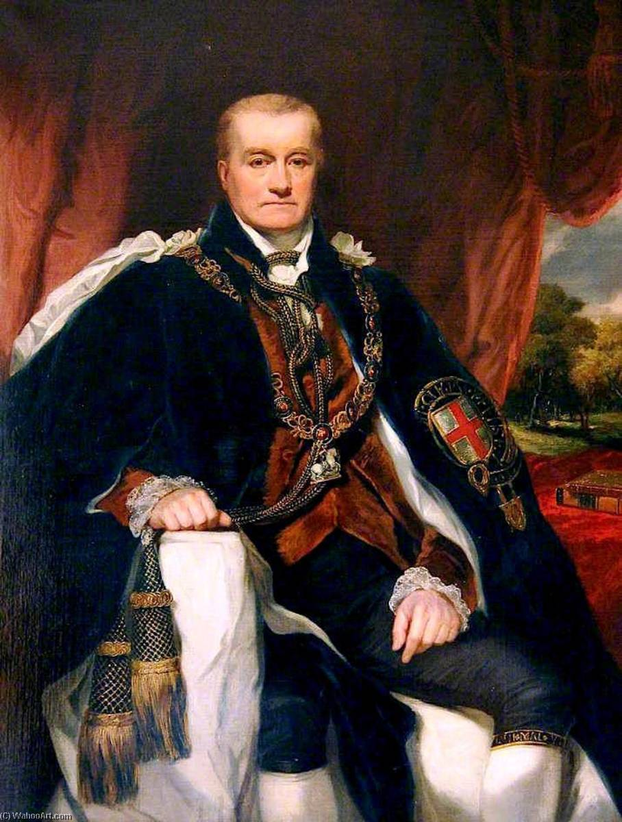 Order Museum Quality Reproductions : George John, 2nd Earl Spencer, First Lord of the Admiralty, 1829 by George Clint (1770-1854, United Kingdom) | ArtsDot.com