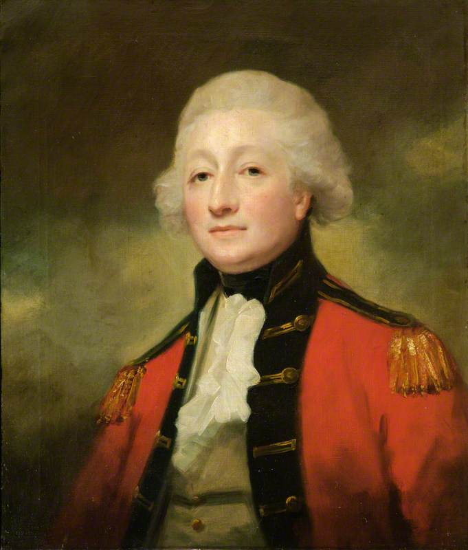 Buy Museum Art Reproductions : Major, Later Lieutenant Colonel Henry Knight Erskine of Pittodrie, Aberdeenshire by Henry Raeburn Dobson | ArtsDot.com