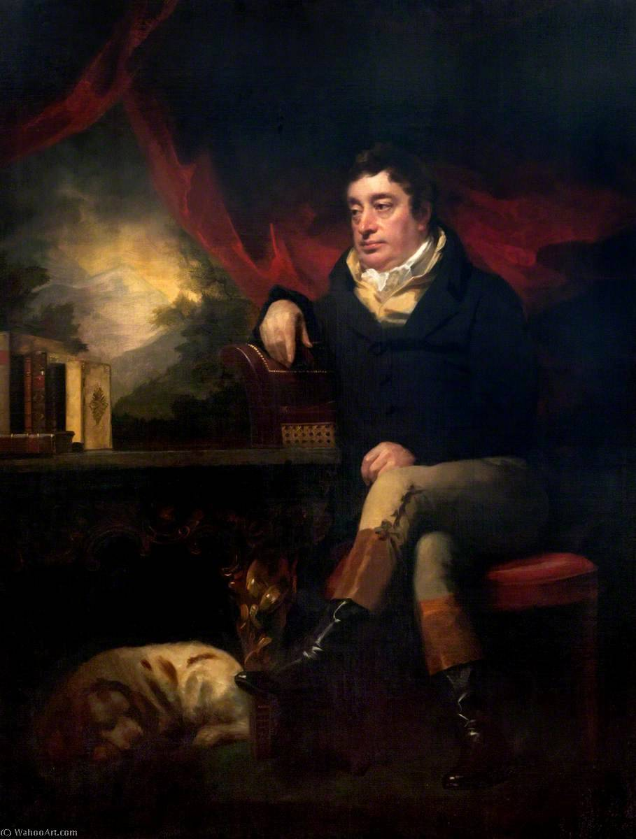 Francis, Lord Seaforth (1754–1815) by Henry Raeburn (1756-1823, United Kingdom) | Painting Copy | ArtsDot.com