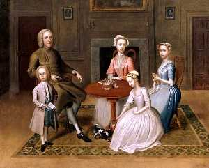 Thomas Bardwell - Group Portrait (possibly ..