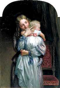Charles West Cope - Mother and Child