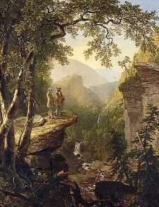Asher Brown Durand - Kindred Spirits, (paintin..