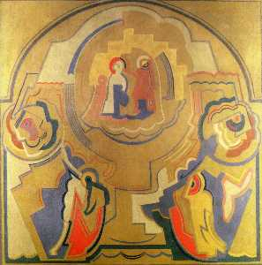 Mainie Jellett - Homage to Fra Angelico