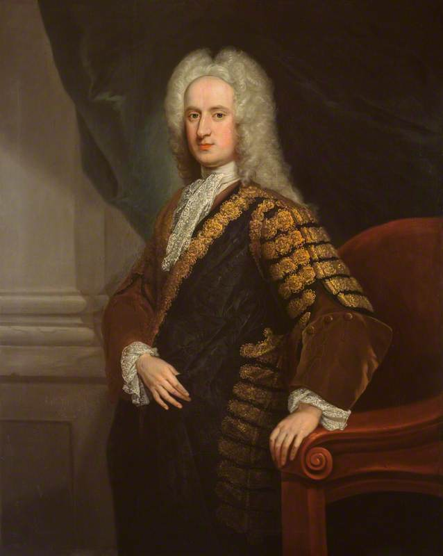 Buy Museum Art Reproductions : John Hay (c.1695–1762), 4th Marquess of Tweeddale, Lord Justice General for Scotland, 1728 by William Aikman (1682-1731) | ArtsDot.com