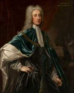 William Aikman - John Dalrymple (1673–1747), 2nd Earl of Stair or John Campbell (1680–1743), Duke of Argyll and Greenwich