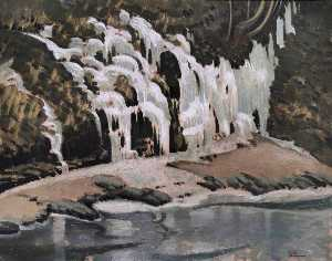 Keith Henderson - Icicles on the Spean