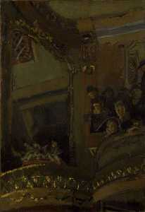 Walter Richard Sickert - The Old Bedford Music Hall