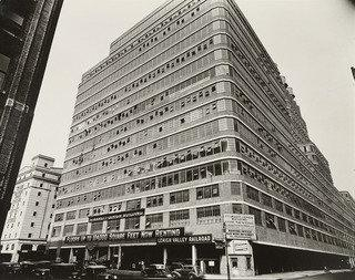 Starrett Lehigh Building, 601 West 26th Street, Manhattan, 1936 by Berenice Abbott (1898-1991, United States) | Museum Quality Reproductions | ArtsDot.com