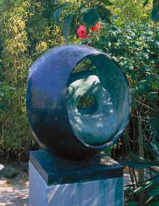 Dame Barbara Hepworth - Sphere with Inner Form