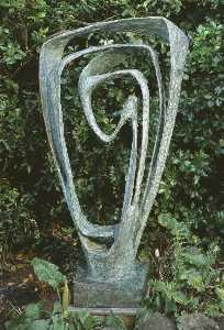 Dame Barbara Hepworth - Garden Sculpture (Model f..