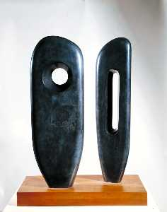 Dame Barbara Hepworth - Two Figures (Menhirs)