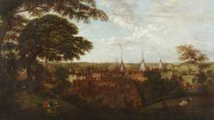 Henry Lark I Pratt - View of Wordsley, Stourbr..