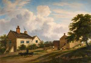 Henry Lark I Pratt - Old Farmstead in Trentham..