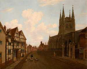 Henry Lark I Pratt - St Editha's Church and th..