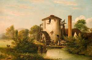 Henry Lark I Pratt - Strongford Mill, near Tre..