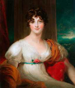 Thomas Lawrence - Louisa Jane Allen (Mrs Jo..