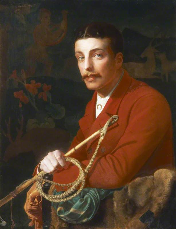 Sir Thomas George Fermor Hesketh (1849–1924), 7th Bt, of Rufford, 1883 by Anthony Frederick Augustus Sandys (1829-1904, United Kingdom) | Museum Quality Reproductions | ArtsDot.com