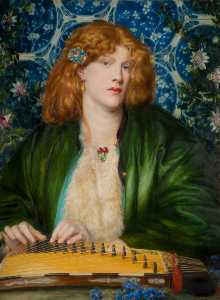 Dante Gabriel Rossetti - The Blue Bower
