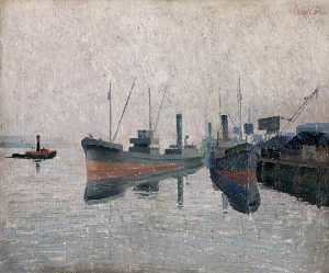Colin Middleton - Coal Quay, Early Morning