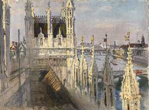 Frank O Salisbury - View from the Palace Roof