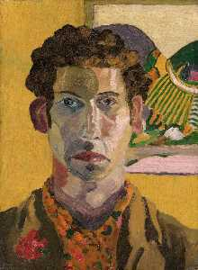 Cedric Lockwood Morris - Self Portrait
