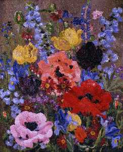 Cedric Lockwood Morris - Summer Flowers