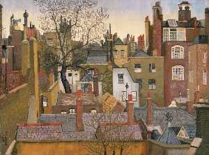 Cedric Lockwood Morris - From a Window at 45 Brook..