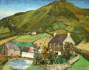 Cedric Lockwood Morris - Llanmadoc Hill, Gower
