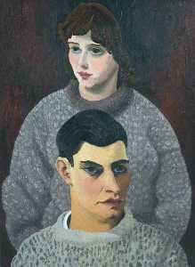Cedric Lockwood Morris - David and Barbara Carr