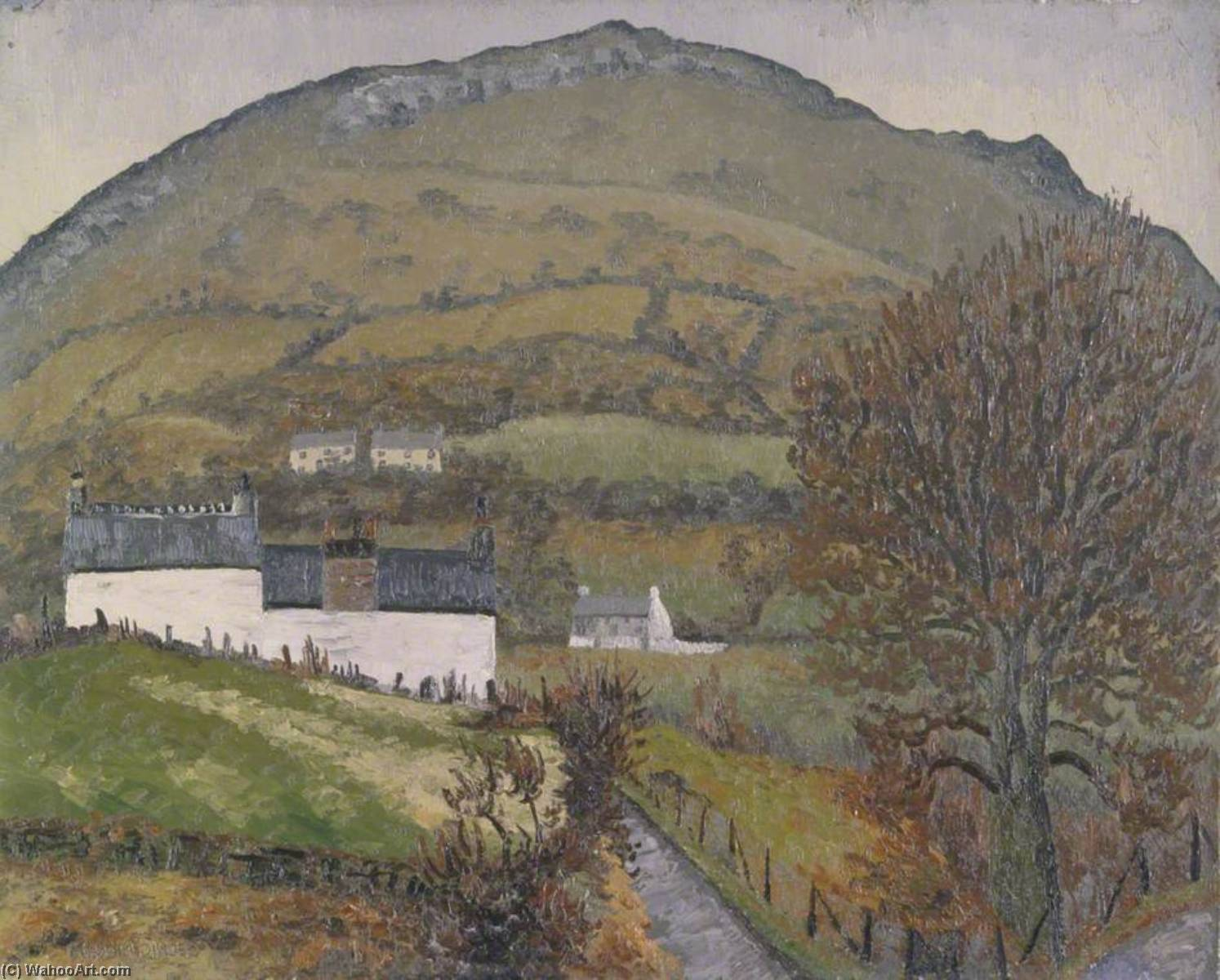 Crickhowell, 1933 by Cedric Lockwood Morris (1889-1982, United Kingdom) |  | ArtsDot.com