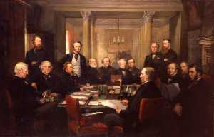 Lowes Cato Dickinson - Gladstone's Cabinet of 18..