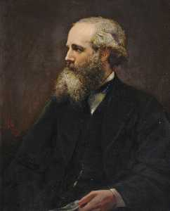 Lowes Cato Dickinson - James Clerk Maxwell (1831..