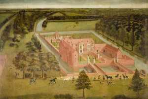 Thomas Bardwell - View of Perry Hall, near ..