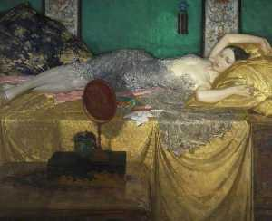 William Russell Flint - Silver and Gold
