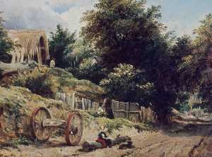 Frederick Waters (William.. - Lane near Bishopstoke, Ha..