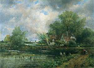 Frederick Waters (William) Watts - View of Dedham, Essex