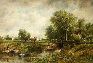 Frederick Waters (William) Watts - The Lock