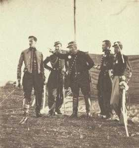 Roger Fenton - General Bosquet and Staff