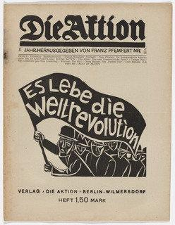 Die Aktion, vol. 10, no. 17 18, 1920 by Conrad Felixmüller (1897-1977) |  | ArtsDot.com