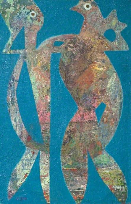 The Partners by Eileen Agar (1899-1991, Argentina) | Museum Art Reproductions | ArtsDot.com