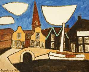 Julian Trevelyan - Dutch Canal