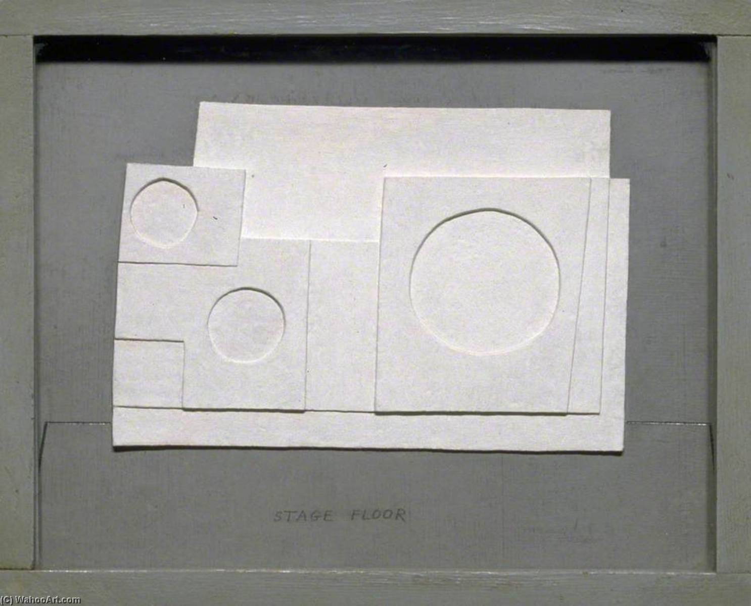 1934 project for Massine for Beethoven 7th Symphony Ballet, 1934 by Ben Nicholson (1894-1982, United Kingdom) | Museum Art Reproductions | ArtsDot.com
