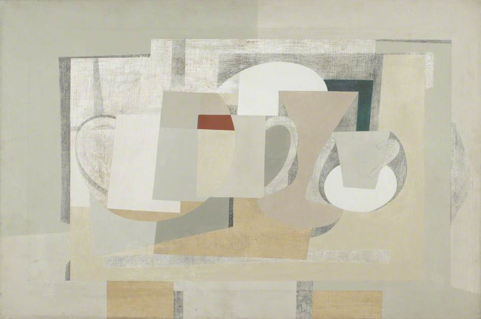 1930–1936 (composition still life), 1936 by Ben Nicholson (1894-1982, United Kingdom) | Art Reproduction | ArtsDot.com