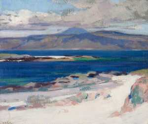 Francis Campbell Boileau .. - Ben More from Iona