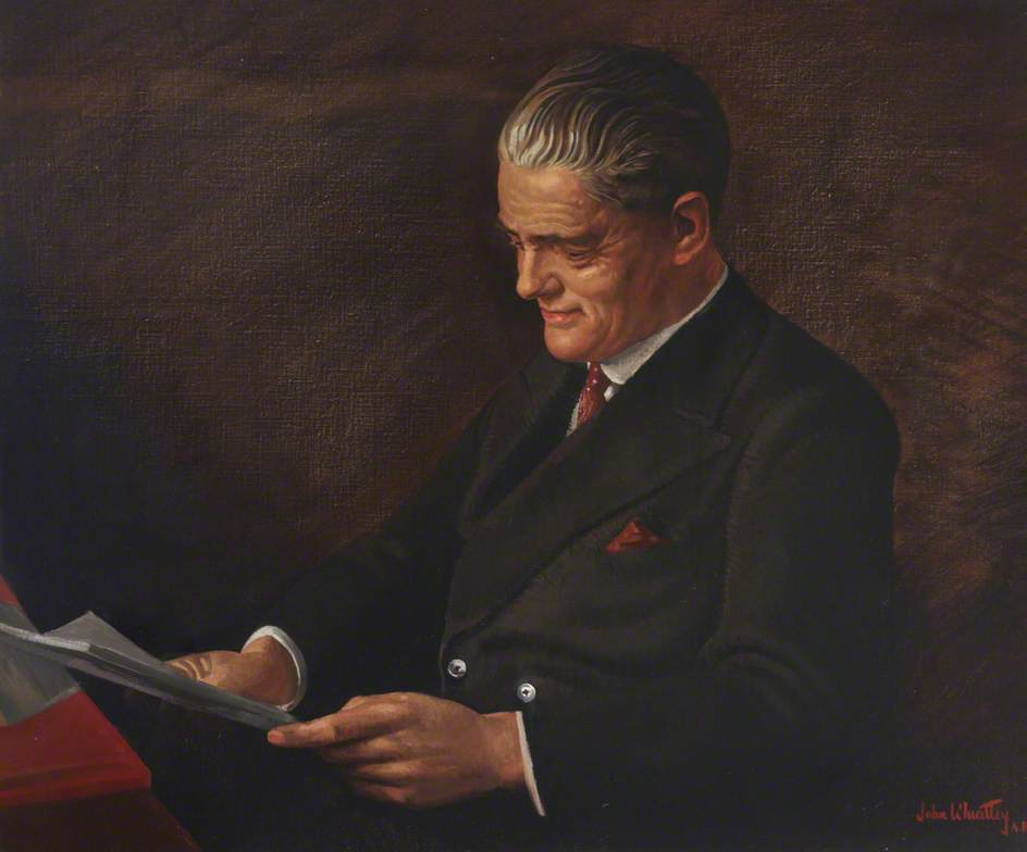 Viscount Nuffield by John Wheatley (1892-1955, United States) | Museum Quality Reproductions | ArtsDot.com