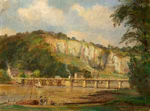 Donald Henry Floyd - Old Chepstow Bridge