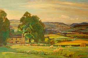 Donald Henry Floyd - Monmouth from Lydart